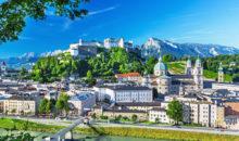 Dvodnevni izlet z ogledom dveh najbolj zanimivih avstrijskih mest. 197 EUR ( všteta večerja ter vstopnini v Schönbrunn in Mozartovo rojstno hišo).