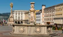 Wels - stolpa Ledererturm in Wasserturm, mestni trg, obzidje ... Linz - prestolnica zgornje Avstrije.  2 dni, 158 EUR z vključeno večerjo.