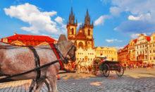 Pot vas bo vodila po gradovih, slikoviti dolini Vltave in po prekrasni zlati Pragi. 3 dni, 147 EUR.