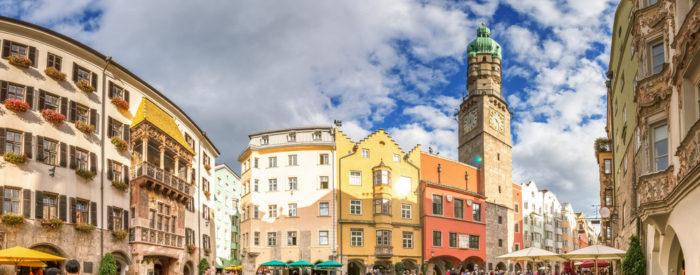 Salzburg-mesto s čudovitimi zgradbami in spomini na preteklost; Innsbruck; Bolzano največje mesto na Južnem Tirolskem. 3 dni, 268 EUR, polpenzion