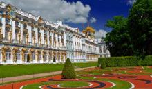Vožnja v oddaljeni Petrov dvorec (Peterhof), ki se nahaja ob Finskem zalivu in je bil priljubljen kraj Petra Velikega, Letalo, 4 dni, 790 EUR.