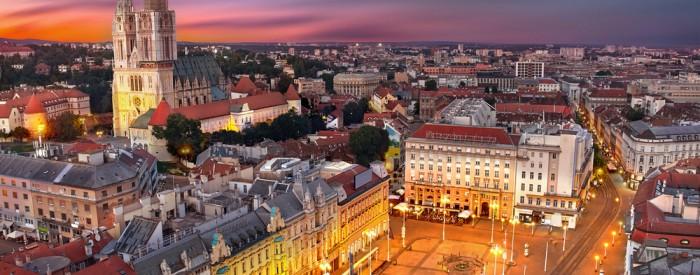 """Zagreb, danes glavno mesto sosednje Hrvaške,  slavonska prestolnica Osijek ter zoološki rezervat """"Kopački Rit""""... 2 dni, 133 EUR (večerja, vstopnine)."""