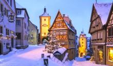Doživite kar dva božična sejma na poteh nemške Romantične ceste.