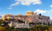 Pomniki antične Grčije - neizmeren vrelec zanivih zgodb in mitov.