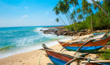 Eksotika z veliko začetnico - prelepa narava, budistični templji, slikovita obala z gosto posejanimi kokosovimi drevesi...