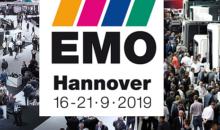 Od 16. do 21. septembra 2019 se bodo v Hannovru na vodilnem sejmu EMO zbrali vsi najpomembnejši proizvajalci  iz sveta kovinsko predelovalne industrije.