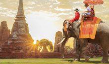 Vedno živahni Bangkok, starodavni prestolnici Ayutthaya in Sukhotai, Chiang Mai - tajski biser...