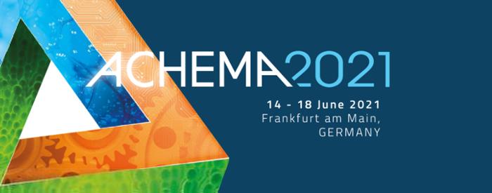 Vabimo vas v Frankfurt na  ogled vodilnega strokovnega sejma za kemijski inženiring, zaščito okolja in biotehnologijo - Achema.